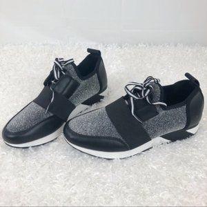 Brash Cody Multicolor Sneaker Black Silver 6.5